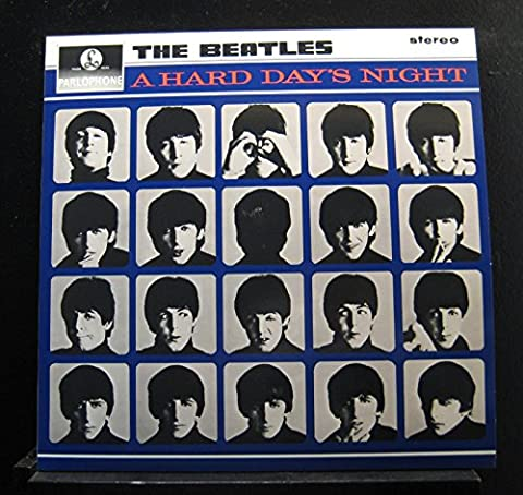The Beatles - A HARD DAY'S NIGHT [STEREO] (The Beatles Vinyl Stereo)