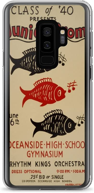 Amazon Com Vintage Poster Junior Prom 1454 Samsung Galaxy S9 Plus Phone Case