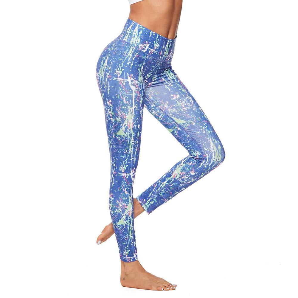 FTXJ Women Workout Chinese Retro Style Leggings Fitness Sport Gym Yoga Athletic Pants