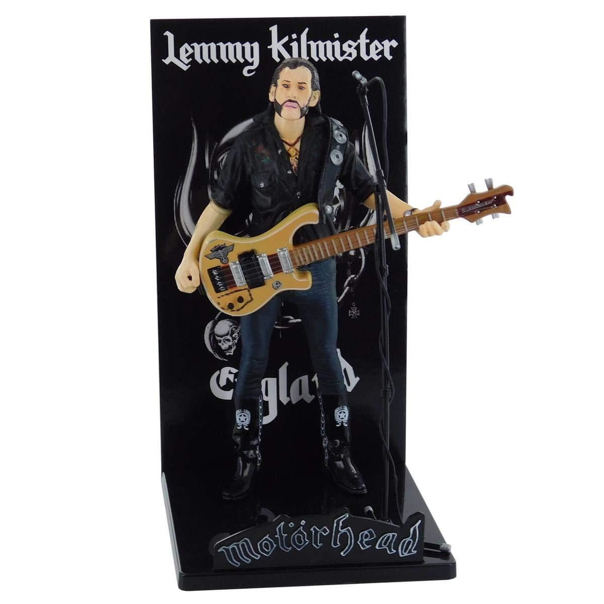 Locoape Motorhead Lemmy Kilmister Deluxe Figure Rickenbacker Guitar Eagle by Toynk