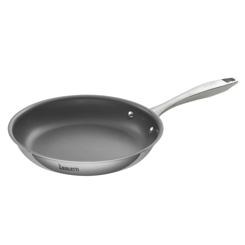 Bialetti 07471 Tri-Ply Durable Saute Pan, 10