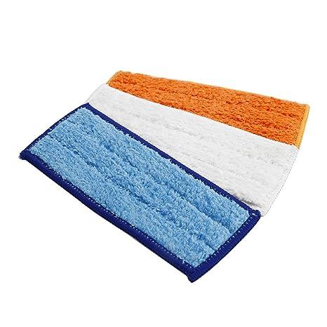 WARMTOWE 3Pcs / Lot Toallitas Lavables Almohadillas de Limpieza Almohadillas de Microfibra Almohadilla de Limpieza húmeda