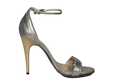 3a317648d Image Unavailable. Image not available for. Color  LANVIN Women s  Aw5l2clizc8a Silver Leather Sandals