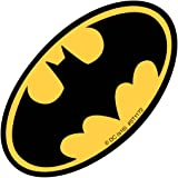 Shaped Batman Logo Stickers - Prizes and Giveaways - 50 per Pack
