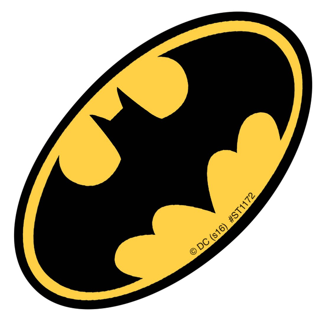 Amazon com shaped batman logo stickers prizes and giveaways 50 per pack toys games