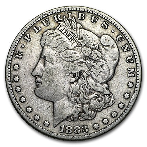 1883 S Morgan Dollar VG/VF $1 Very Good