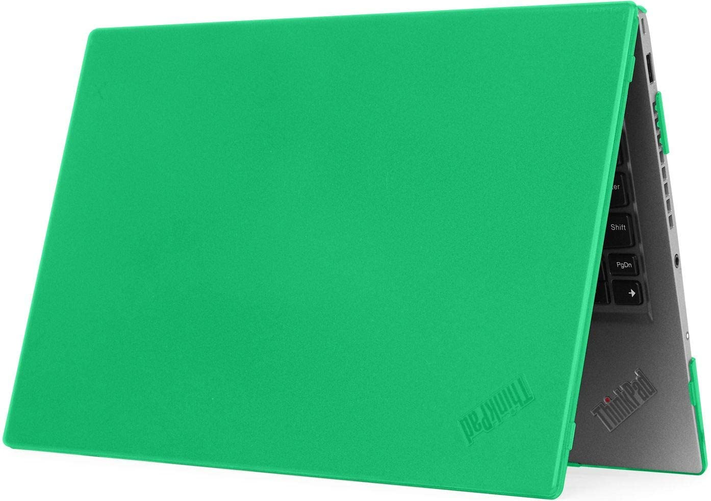 """mCover Hard Shell Case for 2020 14"""" Lenovo ThinkPad T490 Series Laptop Computer (Green)"""