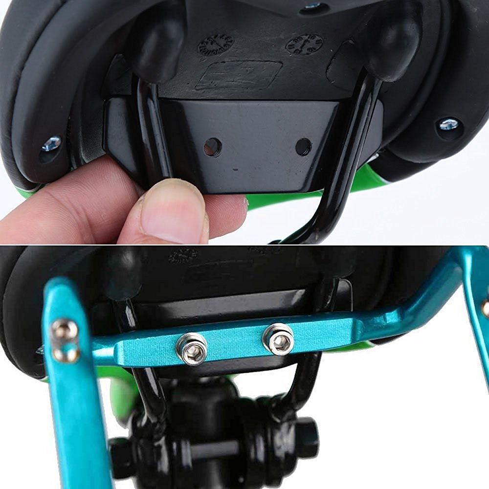SUPOW Two Water Bottle Holder Cage Adapter Saddle For Bike Bicycle Cycling Back Seat Aluminum Alloy Material