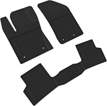 iallauto Rubber Trunk Mat Custom Fit Jeep Renegade 2015 2016 2017 2018 2019 Car Rear Cargo Liner All Weather Vehicle Carpet Heavy Duty-Black Red-Waterproof-Odorless-Durable