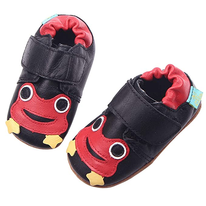 d4dcc36e ... niños Zapatos de cuero Primavera y otoño Zapatos suaves para bebés Zapatos  para bebés Zapatos suaves para bebés y niños pequeños 0-6 meses a 3-4 años:  ...