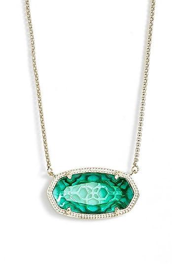 Amazon kendra scott delaney emerald gold pendant necklace jewelry kendra scott delaney emerald gold pendant necklace aloadofball Image collections