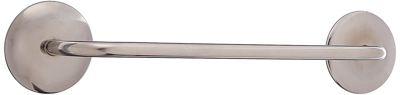 InterDesign AFFIXX, Forma Barra Portasciugamani Autoadesiva da Cucina - 33 cm, Spazzolata 82780