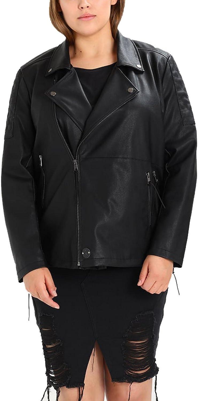 Koza Leathers Womens Lambskin Leather Biker Jacket KN252