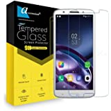 for Motorola Moto G6 Plus Curve Tempered Gorilla Screen Protector High Premium Quality 9h Hard 2.5D Ultra Clear (Transparent) (Set of 1)