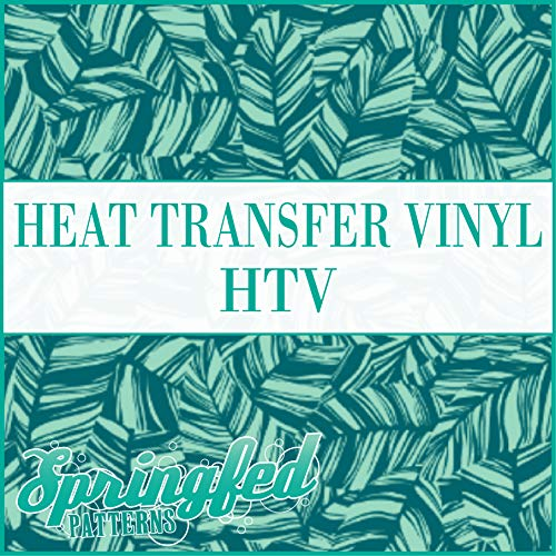 BOMBAY PALM FRONDS Pattern HTV Heat Transfer Vinyl 12
