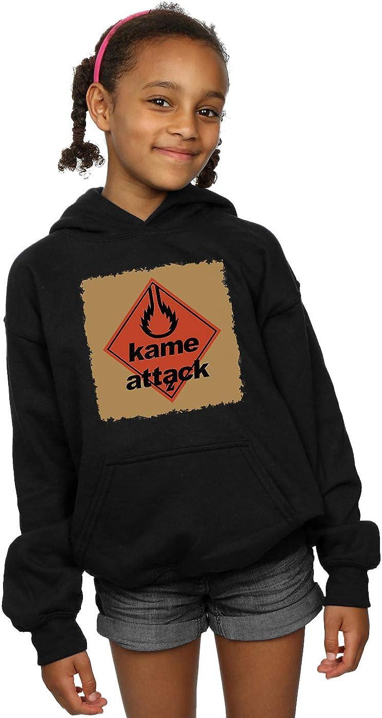 Absolute Cult Ntesign Girls Kame Attack Hoodie
