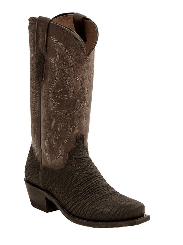 Lucchese Men's M3105 Carl Boot CHOCOLATE-BROWN 11.5
