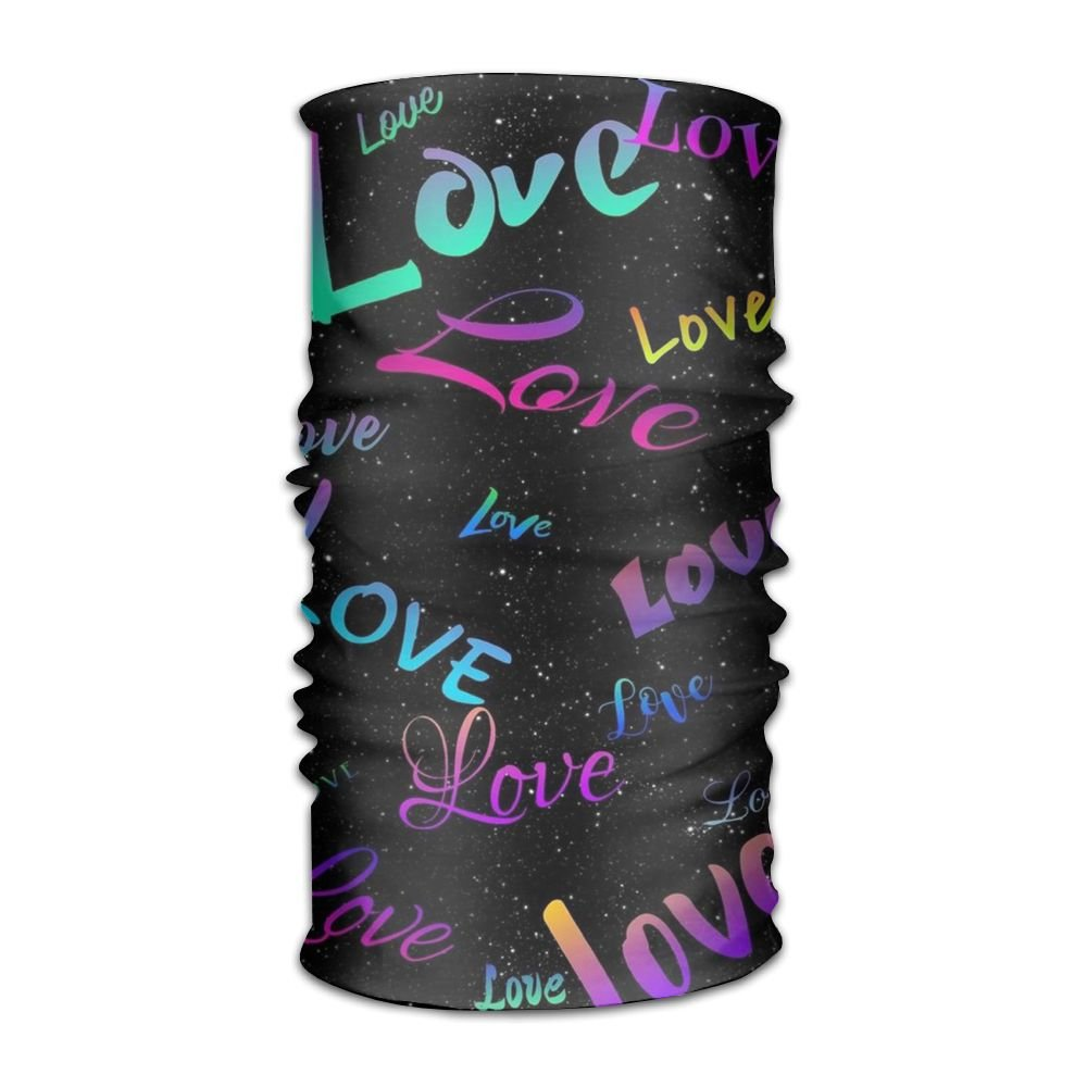 Love 16-in-1 Magic Scarf,Face Mask,fishing Mask,Thin Ski Mask,Neck Warmer Balaclava Bandana For Raves,Dust,Riding Bike,Motorcycle,Outdoor Activities