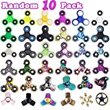 Fidget Hand Spinner, R ? HORSE 10 pack Anti-Anxiety 360 Hand Spinner Fidget Toys Stress Reducer ADHD Anxiety with Fluorescent Wristband(Included In every spinner)