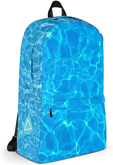 Bookbag with Stash Pocket Stylish Kids Backpack Back to School Laptop Travel Underwater Photo Backpack