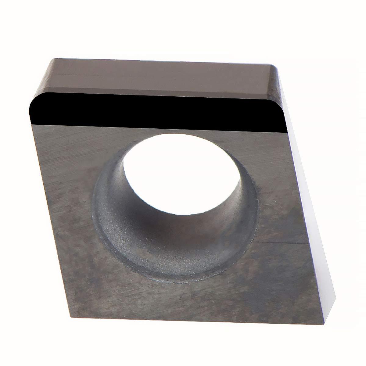 MAXTOOL 10PCs CCMW21.51HP10 Full PCD Edge Inserts Right Polycrystalline Diamond Grade 1500 CCMW060204