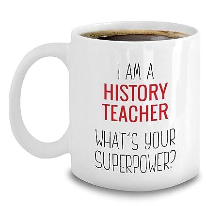 Amazon com: History Teacher Gifts - History Teacher Mug