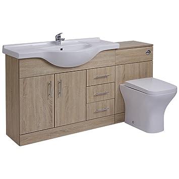 Hudson Reed Meuble Lavabo Toilette Wc 106 X 78 X 48cm Amazon