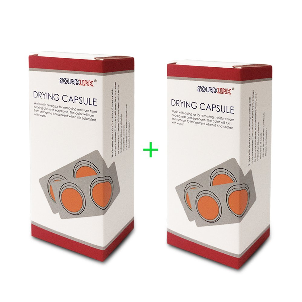 Hearing AIDS Drying Capsules(2 Boxes/ 4 Cards)