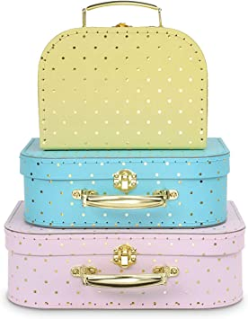 Paperboard Suitcases Gift Boxes