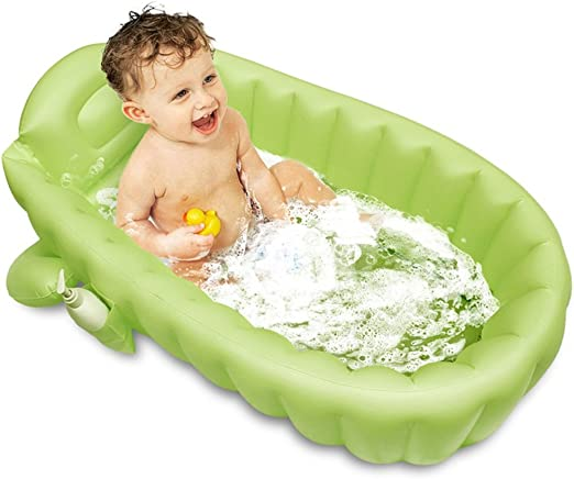 LYM & bañera Plegable Bañera Inflable PVC Baby Bathtub Piscina para niños Baby Shower Portable Viajes Plegable Piscina Desmontable: Amazon.es: Hogar