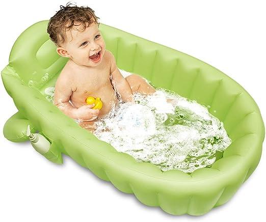 LYM & bañera Plegable Bañera Inflable PVC Baby Bathtub Piscina ...