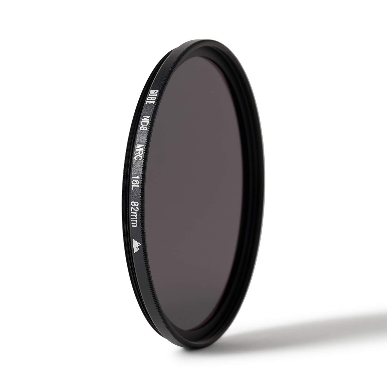 Gobe - Filtro para Objetivo ND 82 mm ND8 (3 Pasos) (2Peak)