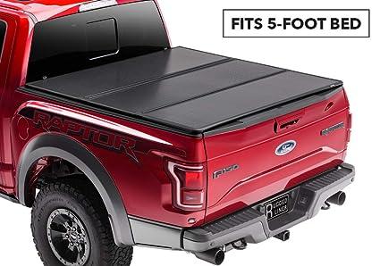 821b0cd79a5 Amazon.com  Rugged Liner Premium Hard Folding Truck Bed Tonneau ...