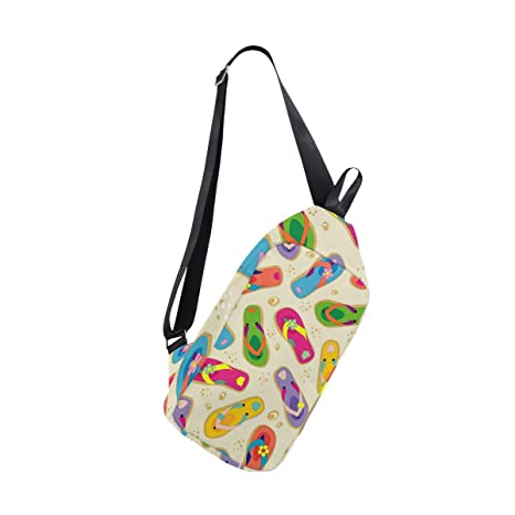b0a383227b19 Image Unavailable. Image not available for. Color  Anmarco Flip Flops  Shoulder Backpack ...