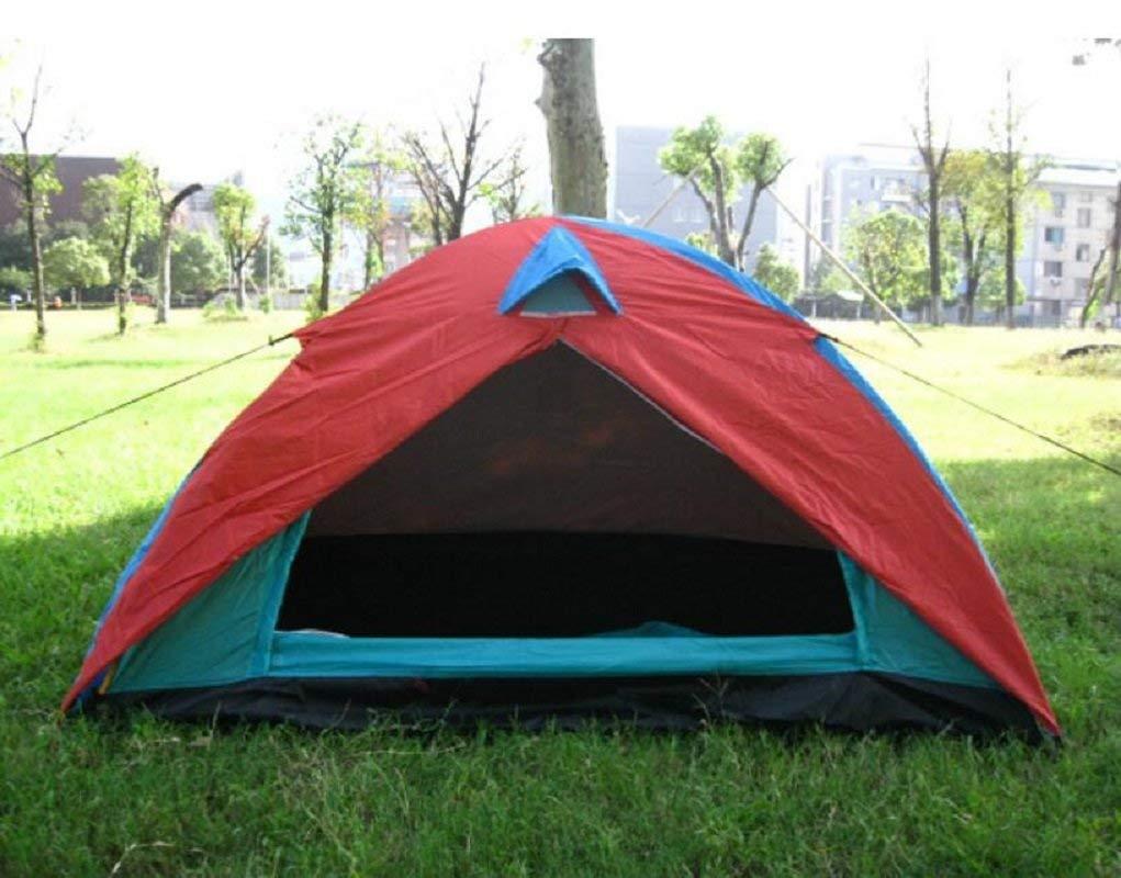 GZZ Guo Outdoor Produkte Outdoor für 2 Personen Verwenden Zelte, Outdoor Doppel Liebhaber Camping Zelte, Net Garn Atmungsaktiv Anti-Mosquito, Tragbare Zelte