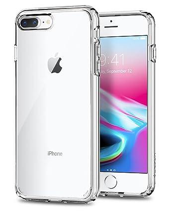 best website 96f43 1c2d4 iPhone 8 Plus Case, Spigen Ultra Hybrid [2nd Generation] - Reinforced  Camera Protection Clear Case for Apple iPhone 7 Plus (2016) / iPhone 8 Plus  ...