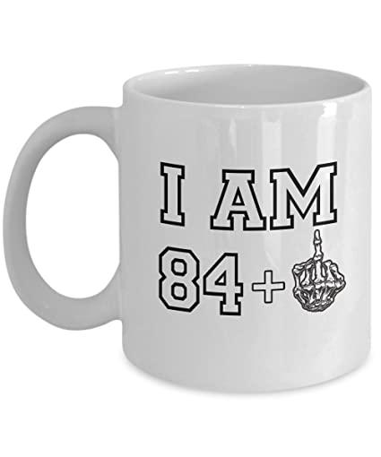 c0b95113759 Image Unavailable. Image not available for. Color  Happy 85th Birthday Mug  ...
