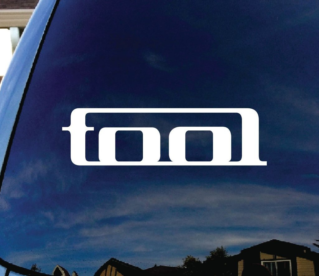 Amazon com tool band car window vinyl decal sticker 5 5 wide cci216 automotive