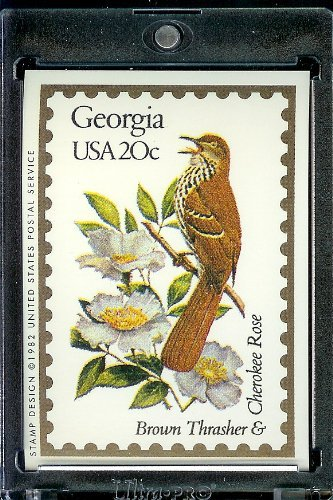 - 1991 Bon Air #Georgia Stamp Replica Trading Card #10