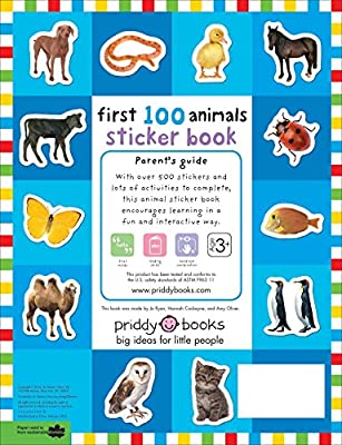 Over 500 Stickers First 100 Words Sticker Book