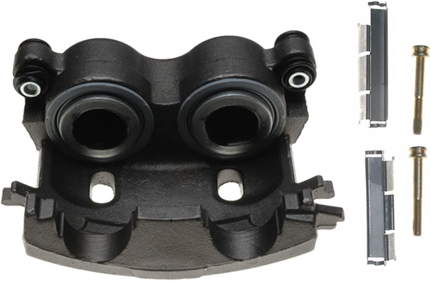 ACDelco 18FR1809 Professional Front Driver Side Disc Brake Caliper Assembly without Pads Remanufactured Friction Ready Non-Coated