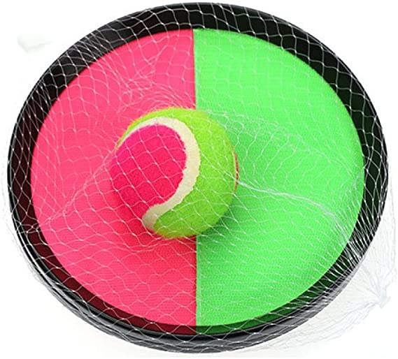LtrottedJ - Estante de moda para deportes, juego de bolas con pala ...