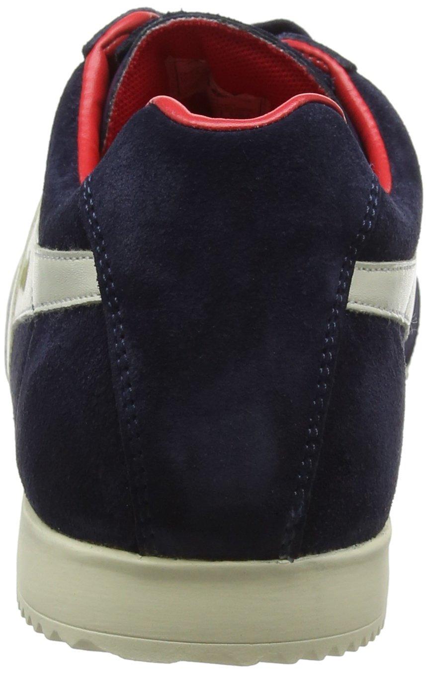 Gola Men's Harrier Fashion Sneaker B071LHQ8Z1 8 D(M) US|Navy/Off-white/Red