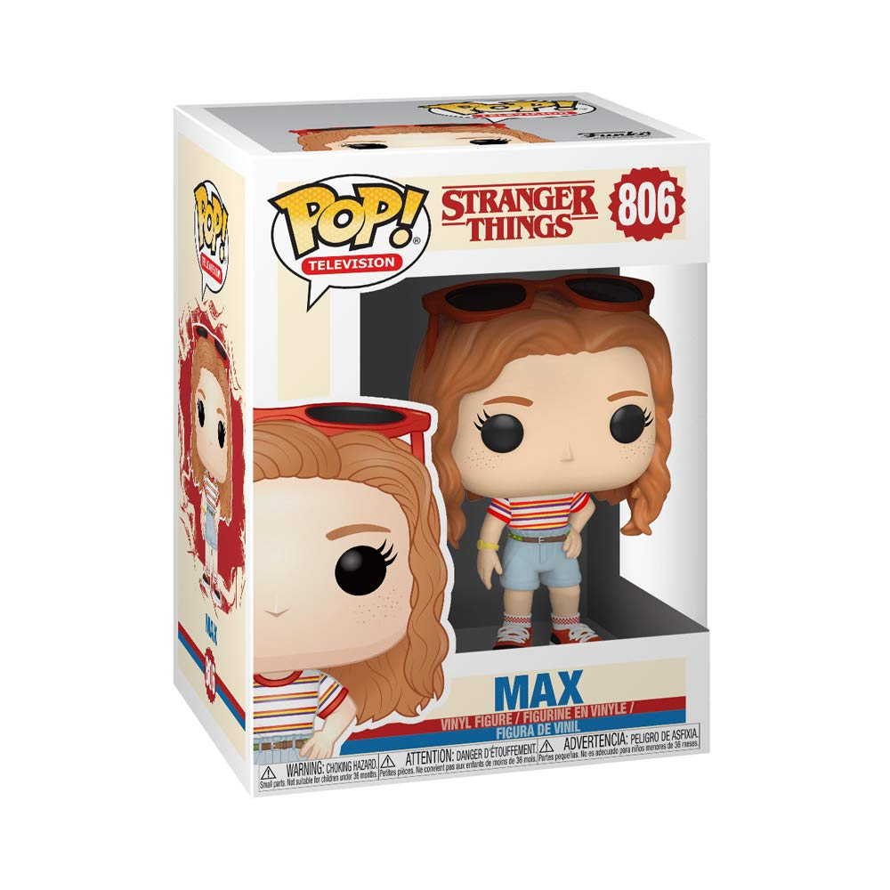 Funko- Pop Vinilo: Stranger Things: MAX Mall Outfit Figura Coleccionable, Multicolor (38531)