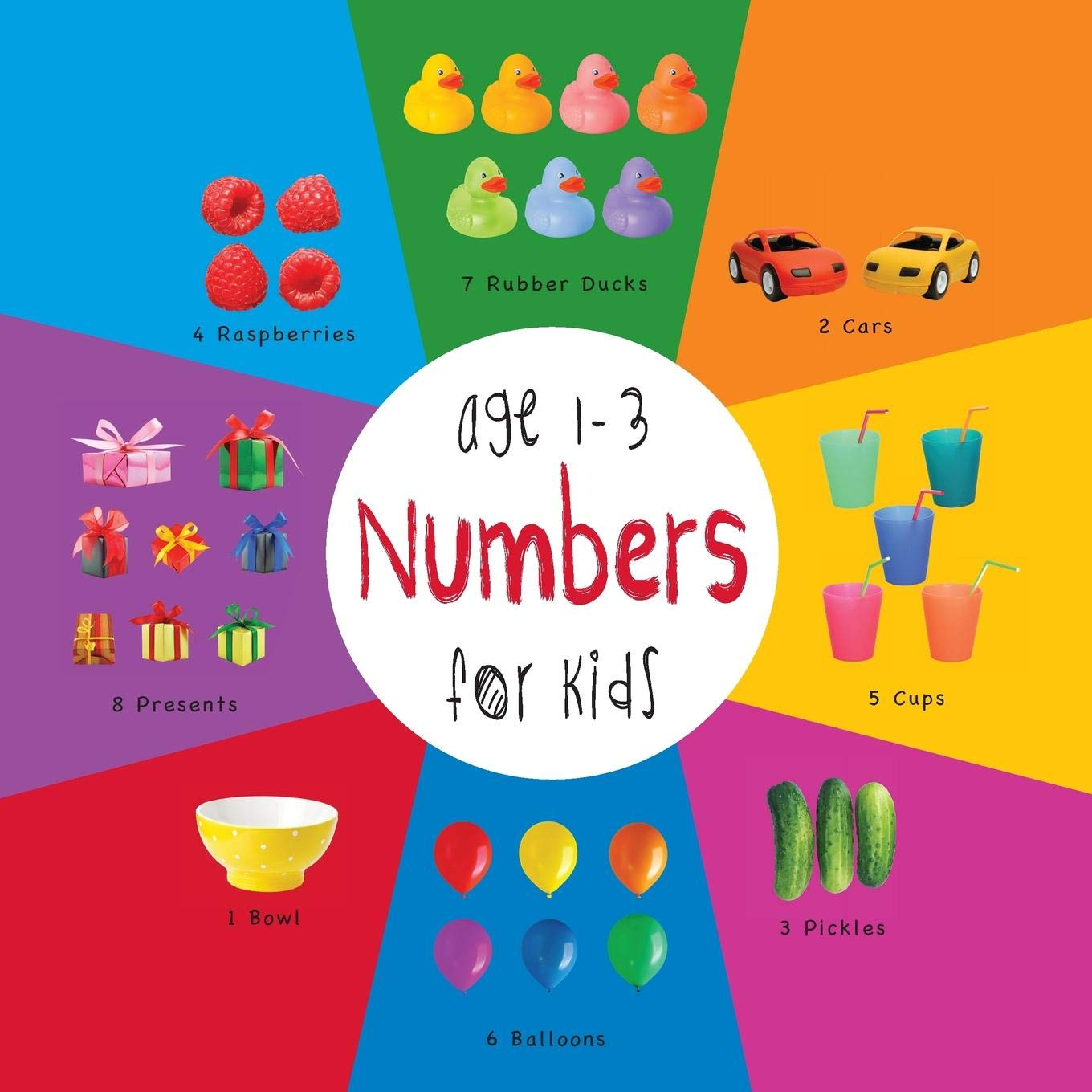 Numbers for Kids age 1-3 Engage Early Readers: Childrens Learning ...