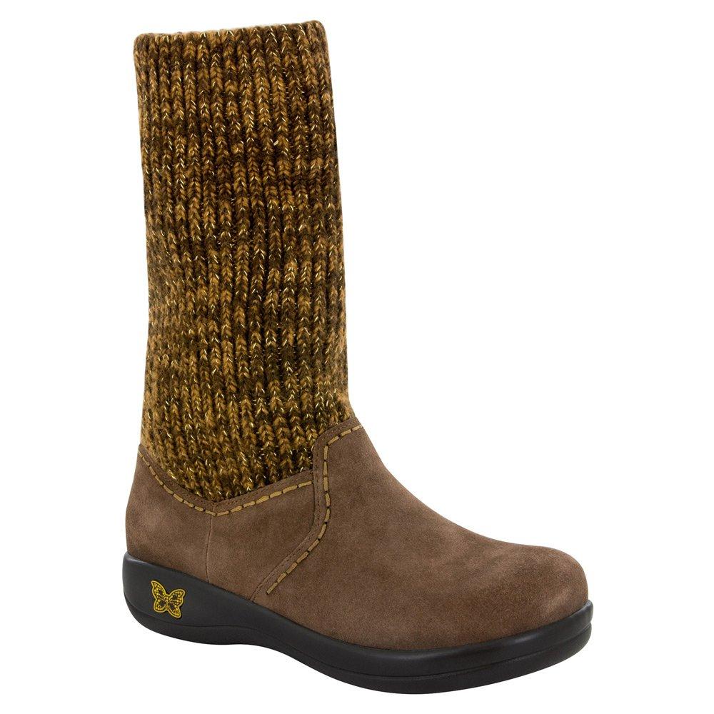Alegria Womens Juneau Knit Boot B01BCQ7M8S 37 M EU / 7-7.5 B(M) US|Choco Gold