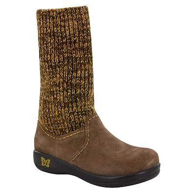 Alegria Womens Juneau Choco Gold Boot 37 US Womens 775 Regular