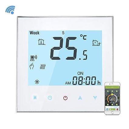 Onepeak Termómetro programable del control de la temperatura de la calefacción de agua del control de