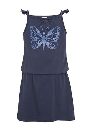 Kleid 128 blau