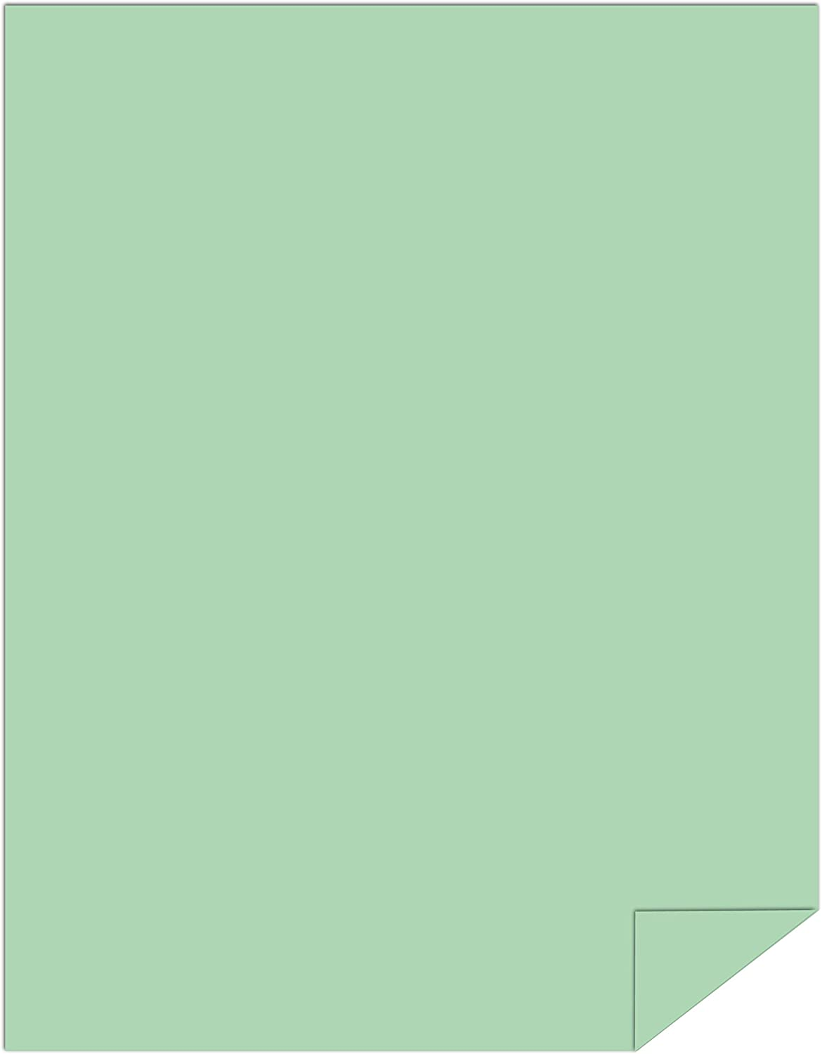 24//60lb 8.5 x 14 89gsm Heavy Paper 024225R 1 Ream // 500 Sheets Legal Springhill Colored Paper Thick Paper Opaque Green Paper